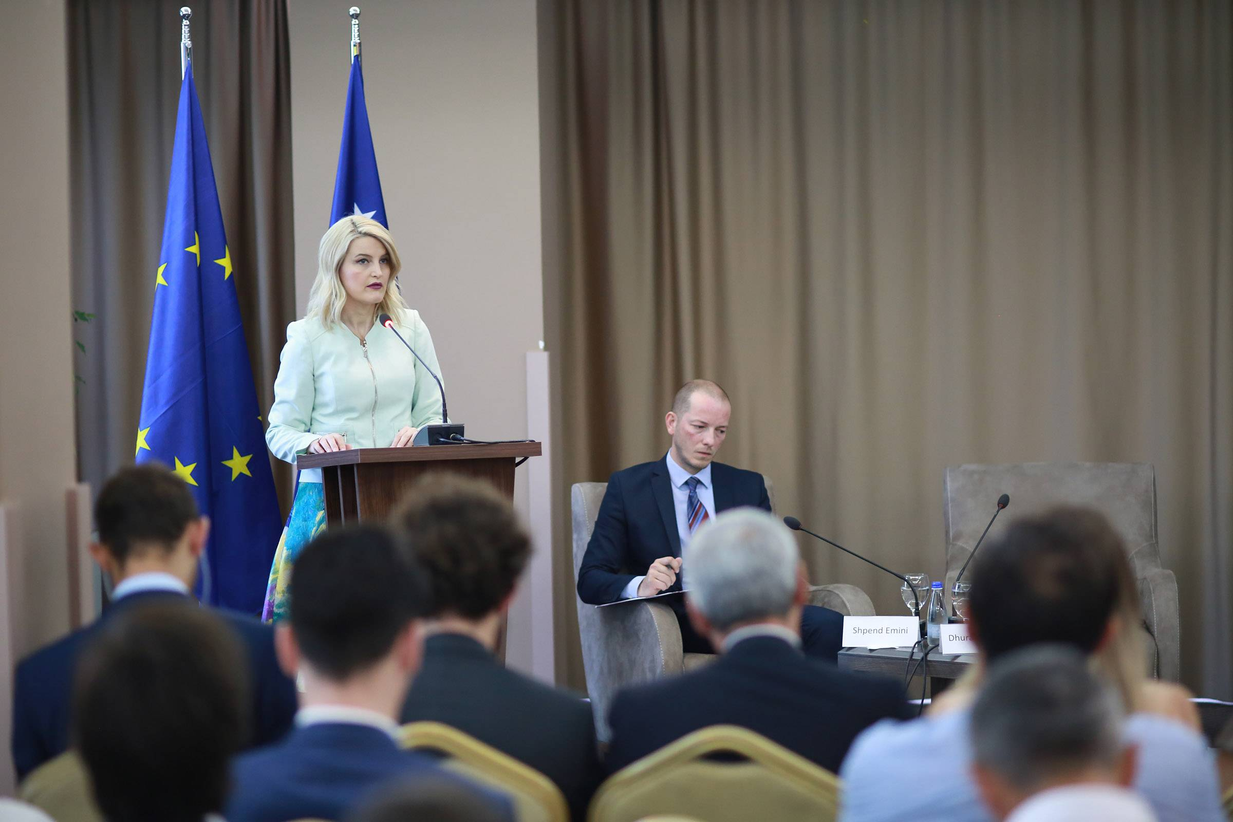 Minister Hoxha: Findings of the Report 2018 are being addressed with priority