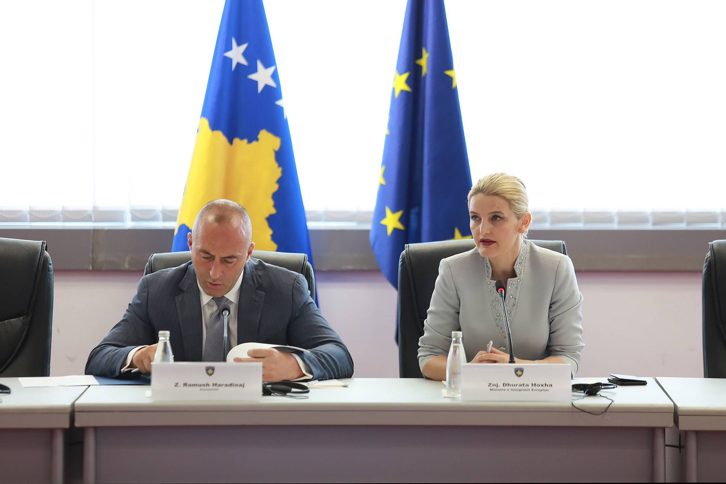 Minister Hoxha seeks more commitment to the European Reform Agenda