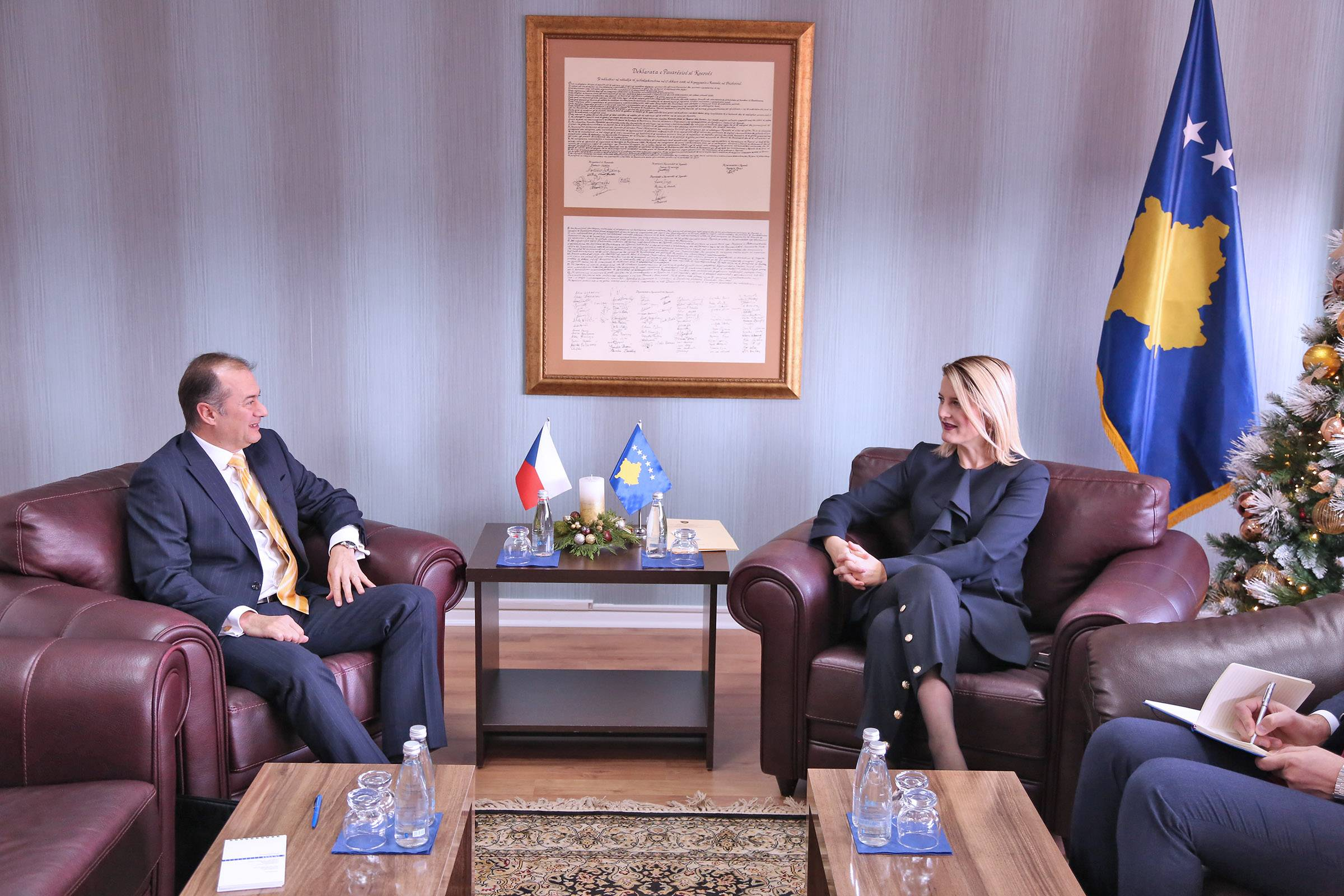 Minister Hoxha: The Czech support is important to Kosovo