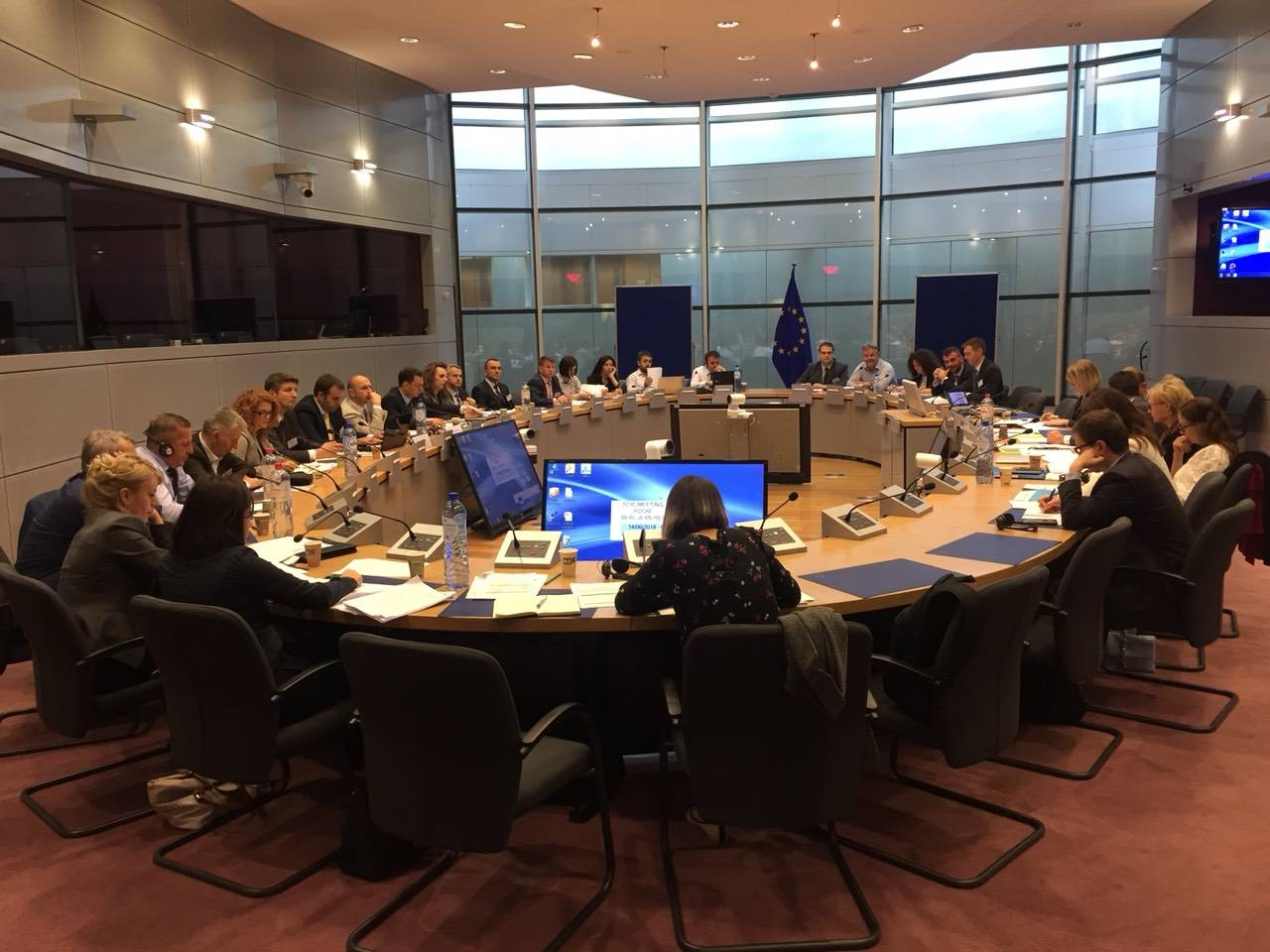 Kosovo and European Union discuss trade, industry, customs and taxation, within SAA framework