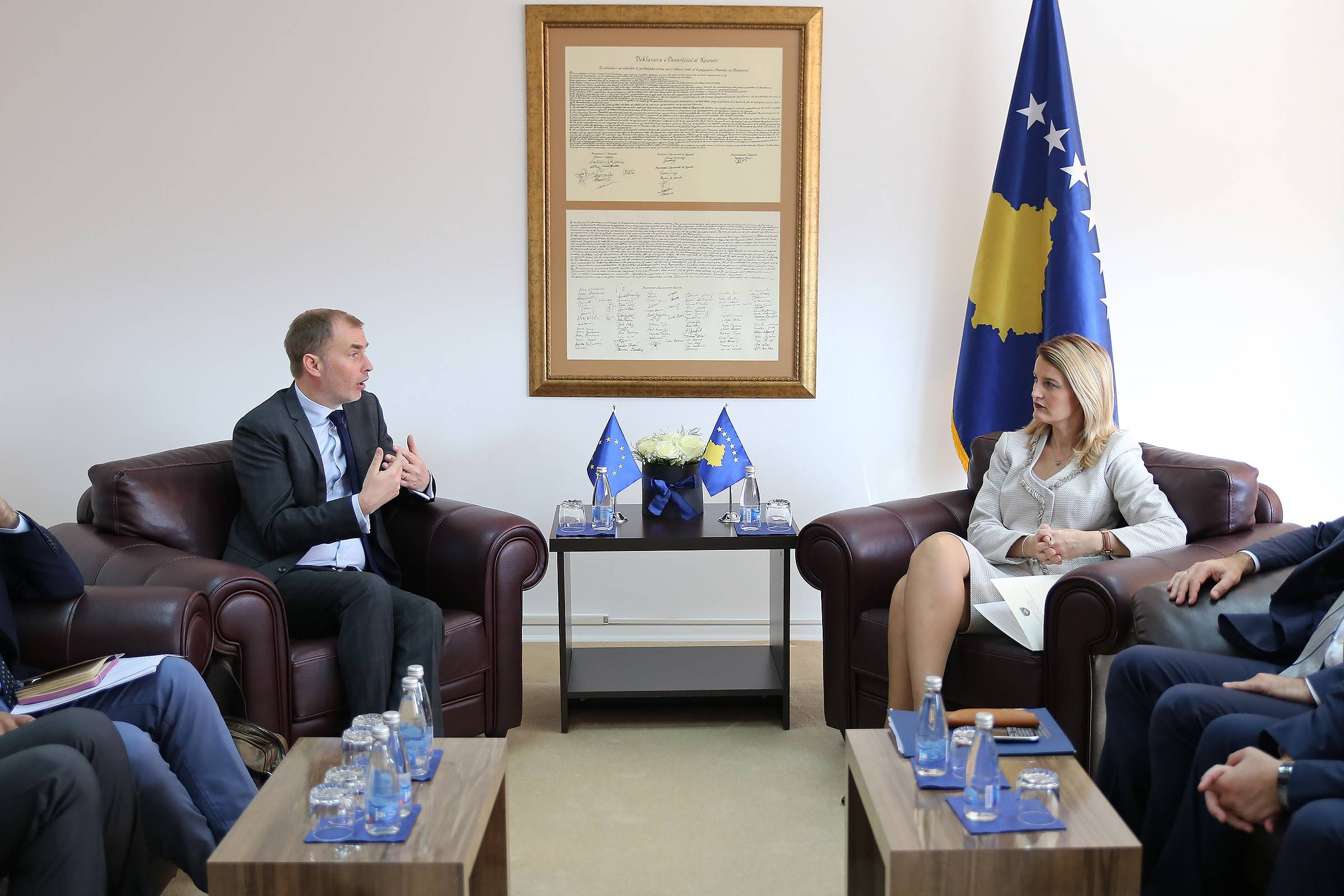 Minister Hoxha: Unanimous to integration process acceleration