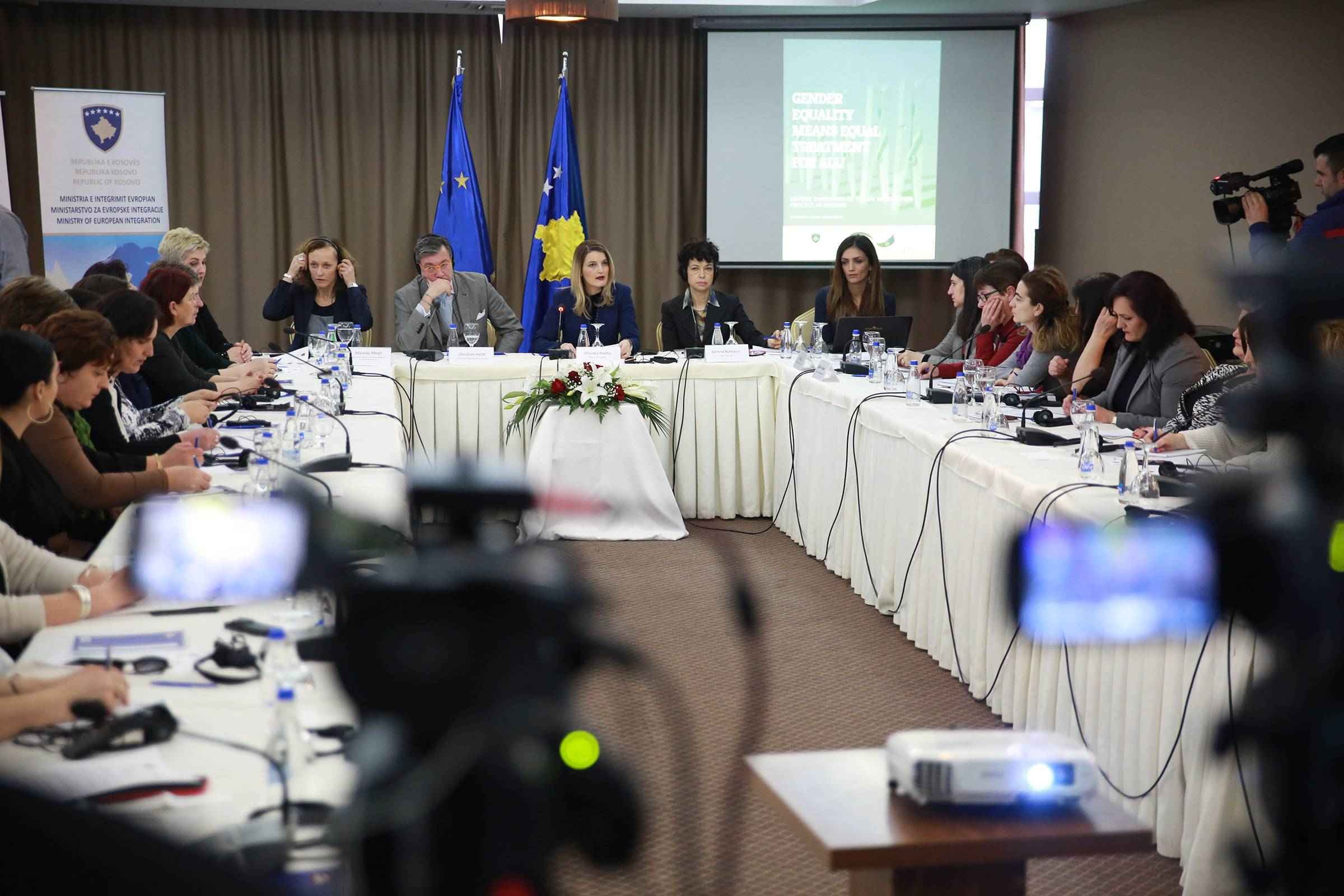 Minister Hoxha: Gender equality necessary for the integration process